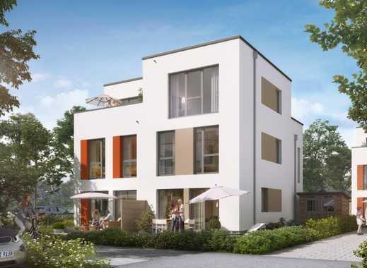 Familienparadies in Hamburg! Doppelhaushälfte mit ausgebautem Dachgeschoss und schönem Garten