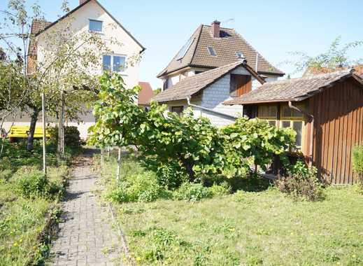 ##RESERVIERT## Charmantes freistehendes Zweifamilienhaus mit idyllischem Garten in Sexau