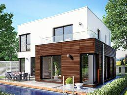 evolution 143 v13 traumhaus mit bereck erker xl terrassen berdachung balkon und carport. Black Bedroom Furniture Sets. Home Design Ideas