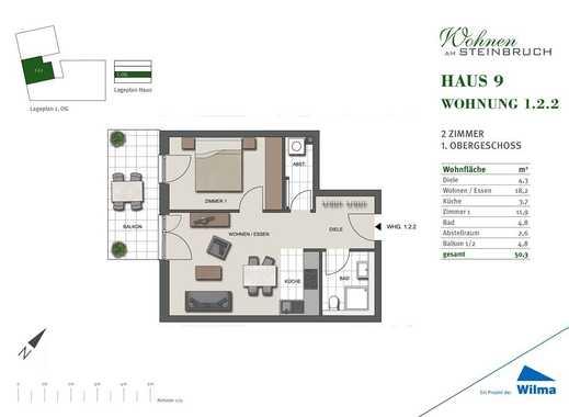 Klein aber Fein. 50m² Wohnung! Besuchen Sie uns jeden Mittwoch zwischen 17-19 Uhr