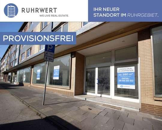 Außenansicht 1 von 1 Jahr kostenlos mieten! Großes Ladenlokal im ruhigen Wohngebiet - kostenlos zu vermieten!