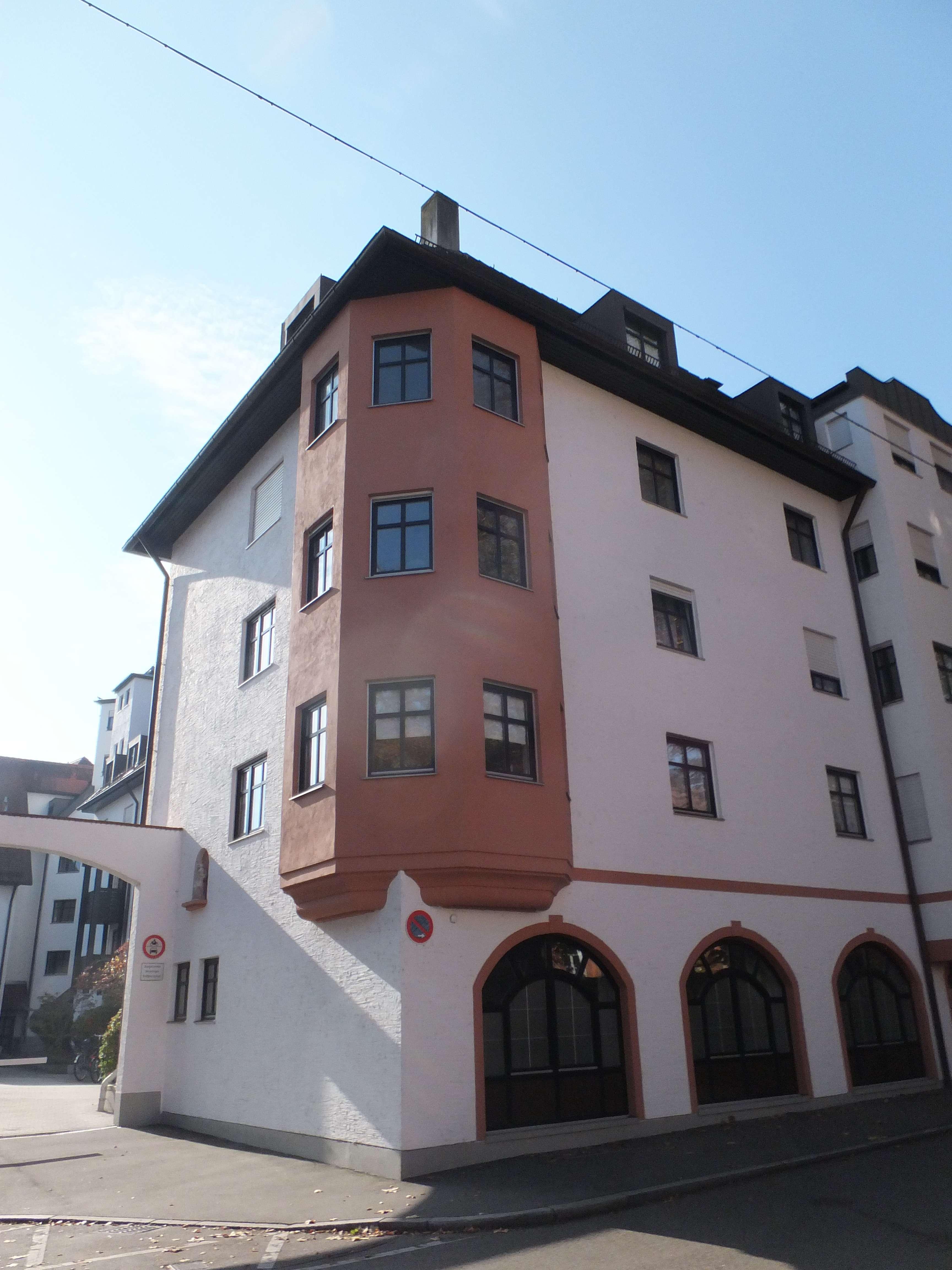 Gepflegte 3-Zimmer-Wohnung mit Balkon im 1. OG in Augsburg in Augsburg-Innenstadt