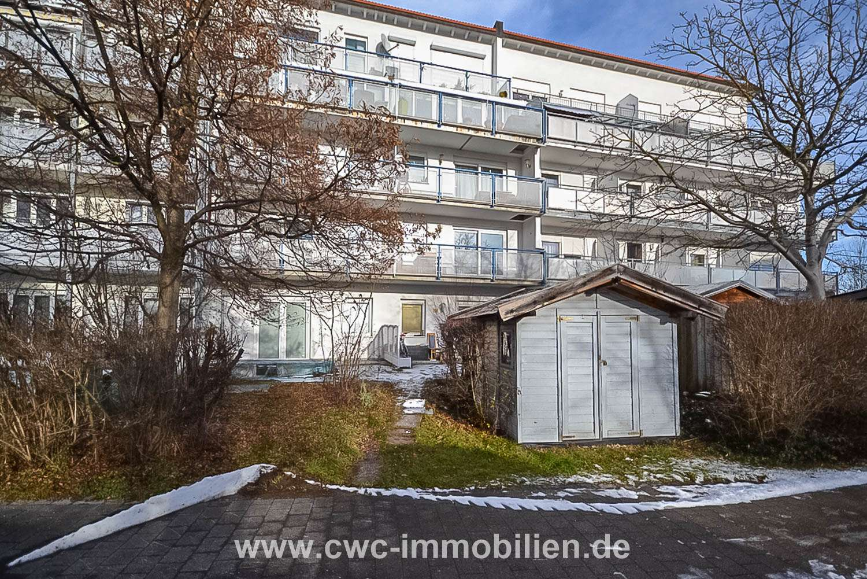 Sehr schöne 2-Zimmer Wohnung mit Südbalkon zum ruhigen Innenhof in