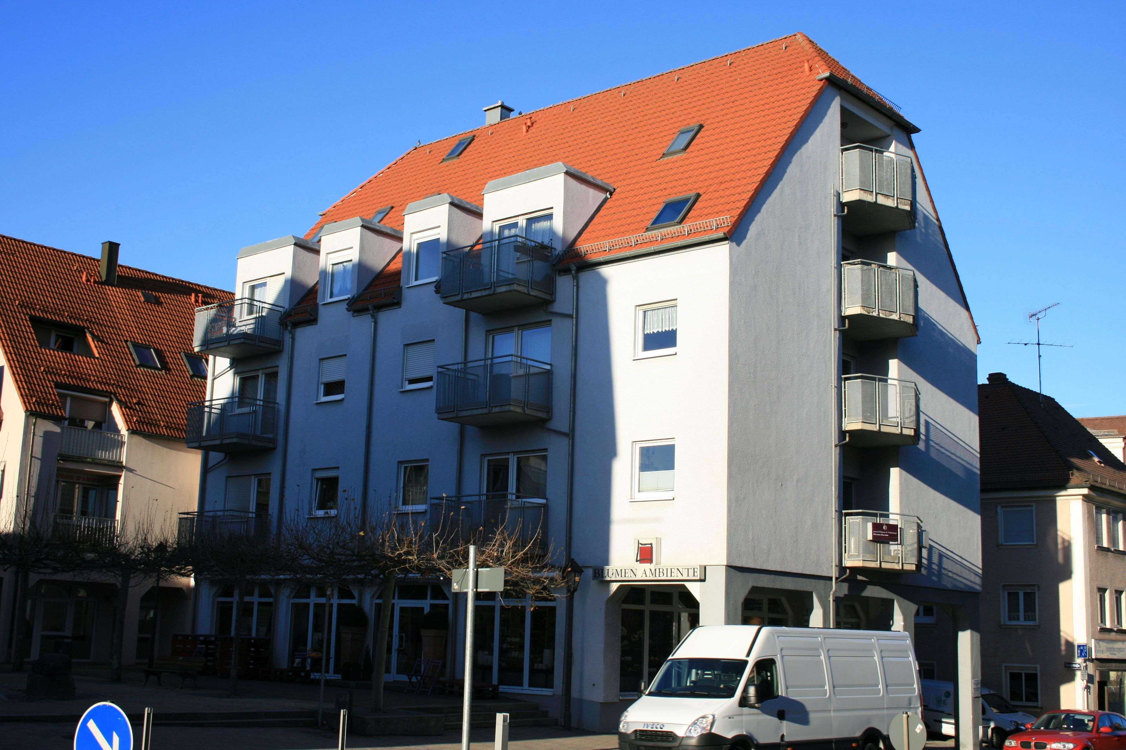 2-Zimmer-Wohnung mit Balkon und EBK in Stein in Stein (Fürth)