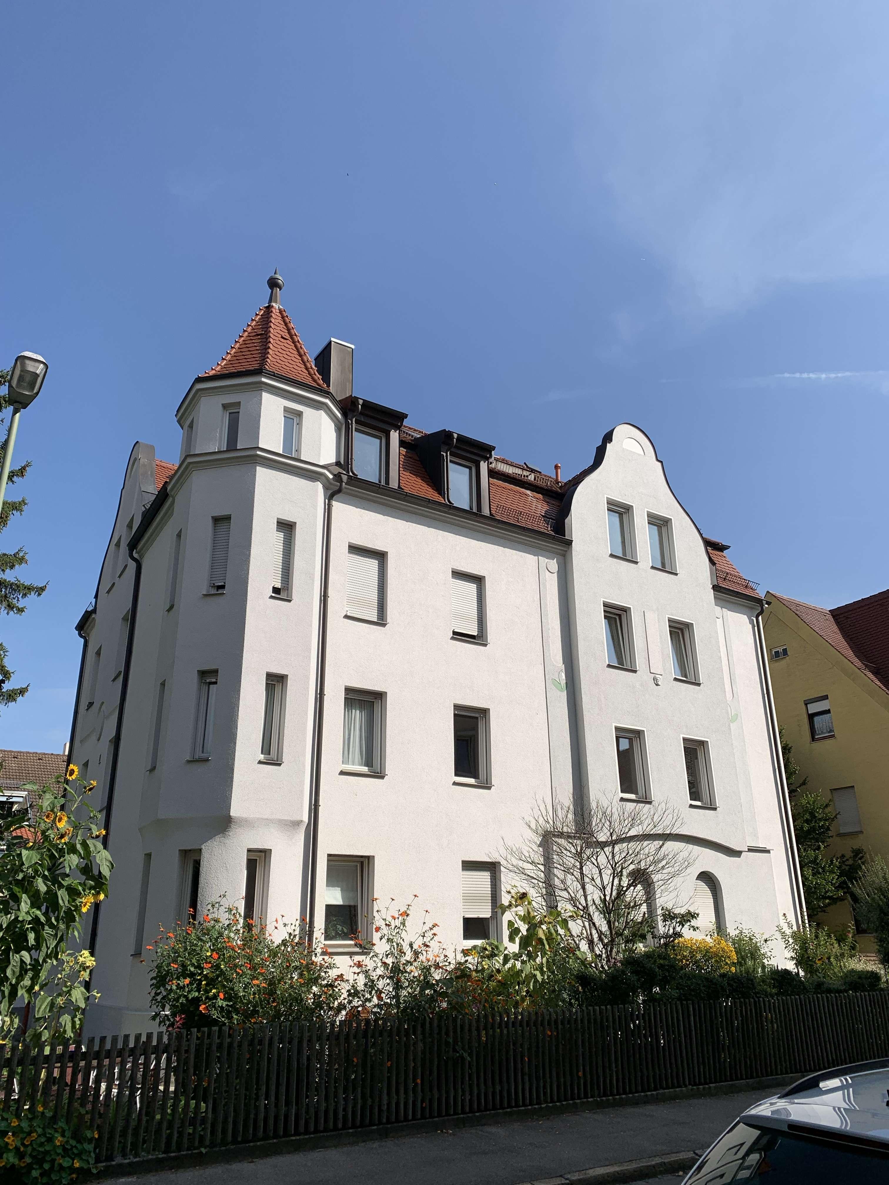 tolle Dachgeschoss-Wohnung, WG-geeignet in Pfersee (Augsburg)