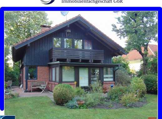 architektonisch besonders gestaltetes Wohnhaus mit Wintergarten in Edewecht