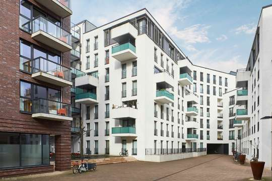 Modernes Wohnen in den Wallhöfen: Großzügige 3-Zimmer Wohnung mit Balkon