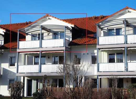 Schöne Dachgeschosswohnung, 3 Zimmer und Balkon, ca. 82 m² in Steinen zu vermieten