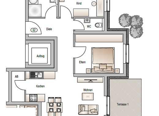 Erdgeschoss / 3-Zimmer