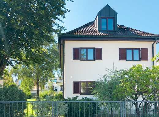 Münchner Altbauvilla von 1924 auf sonnigem Grundstück