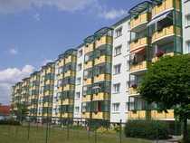 Balkon zum begrünten Innenhof