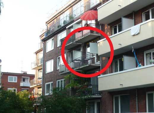 Schöne helle 2 Zimmer Wohnung in Alsternähe mit Balkon - von privat ab 1.3.2020