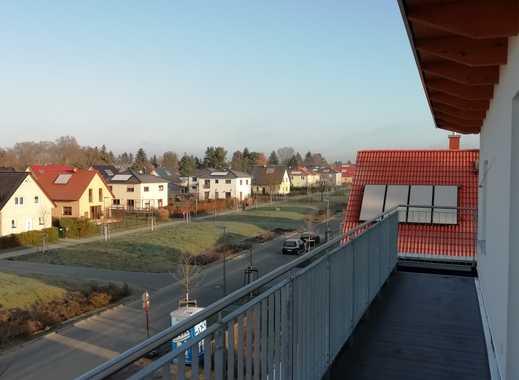 Erstbezug: attraktive 4-Zimmer-Penthouse-Wohnung mit 2 Terrassen in Berlin-Mahlsdorf