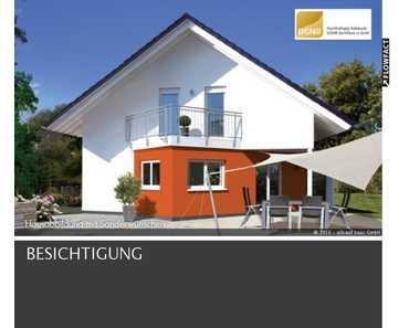 NEUBAU KFW 55 Einfamilienhaus mit Grundstück,  Keller und Garage in Riedhausen in Riedhausen