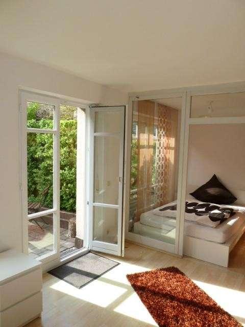 Exklusive, gepflegte 1,5-Zimmer-EG-Wohnung mit Balkon und neuer EBK in Augsburg in Augsburg-Innenstadt
