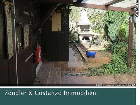 Tolles Gartengrundstuck Mit Holzhaus Terrassen Ofen Steingrill In