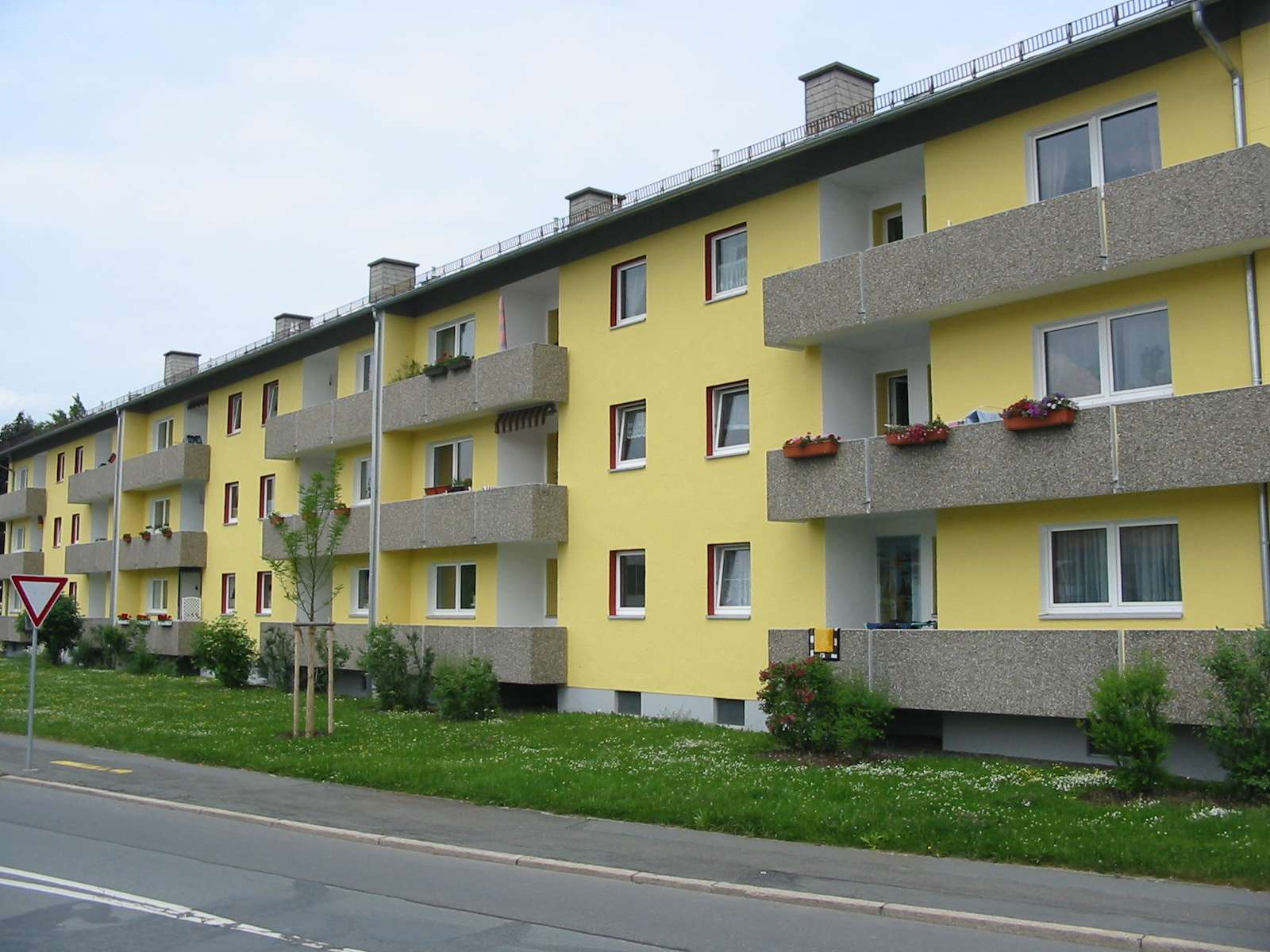 Großzügig geschnittene Wohnung in der Wunsiedler Straße in Hof-Innenstadt