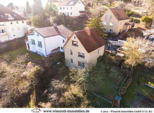 Grundstück mit Einfamilienhaus in der Schillbachstraße