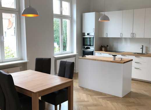 Möblierte, helle, frischsanierte 3-Zi-Wohnung in Leipzig