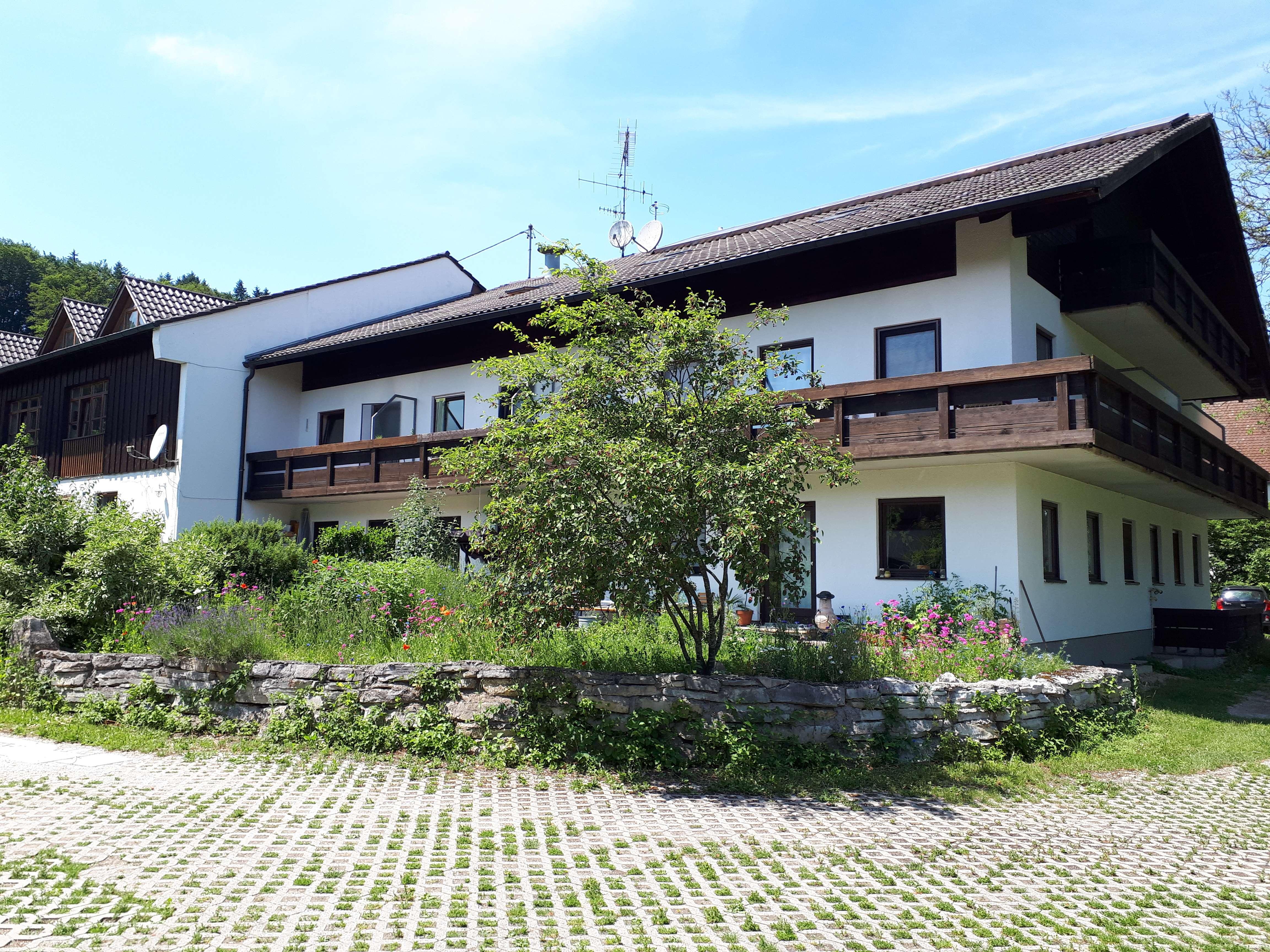4-Zimmer Dachgeschosswohnung mit Balkon bei Wasserburg in Soyen