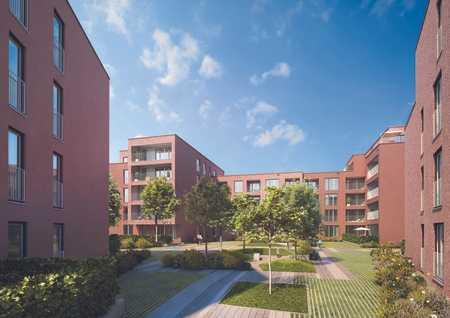 PASING-OBERMENZING (NEUBAU-ERSTBEZUG): Großzügige 2-Zimmer-Wohnung mit Loggia zum Innenhof in Obermenzing (München)