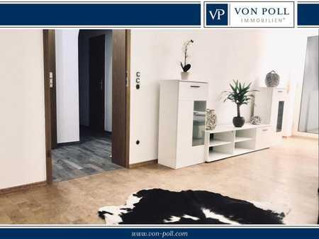Hochwertige 2-Zimmer-Wohnung mit Einbauküche und Balkon in Hof-Innenstadt