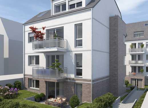 Wohnen auf zwei Etagen: 3-Zimmerwohnung mit eigenem Garten