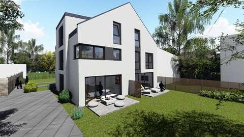 Mein Haus am Rhein* Neubau Doppelhaushälfte in Biebrich