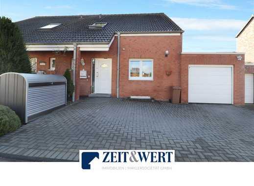 Erftstadt-Lechenich! Exklusive Doppelhaushälfte mit Kamin, sonnigem Garten und Garage! (LR 3904)