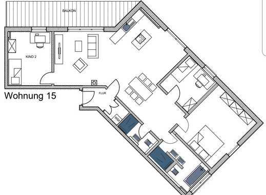 Erstbezug: exklusive 4-Zimmer-Penthouse-Wohnung mit Balkon in Altdorf bei Nürnberg