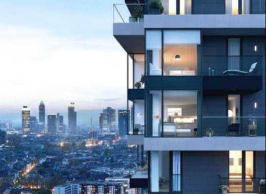 Henninger Turm - Luxuriöse 3-Zimmer Wohnung mit Skyline Blick
