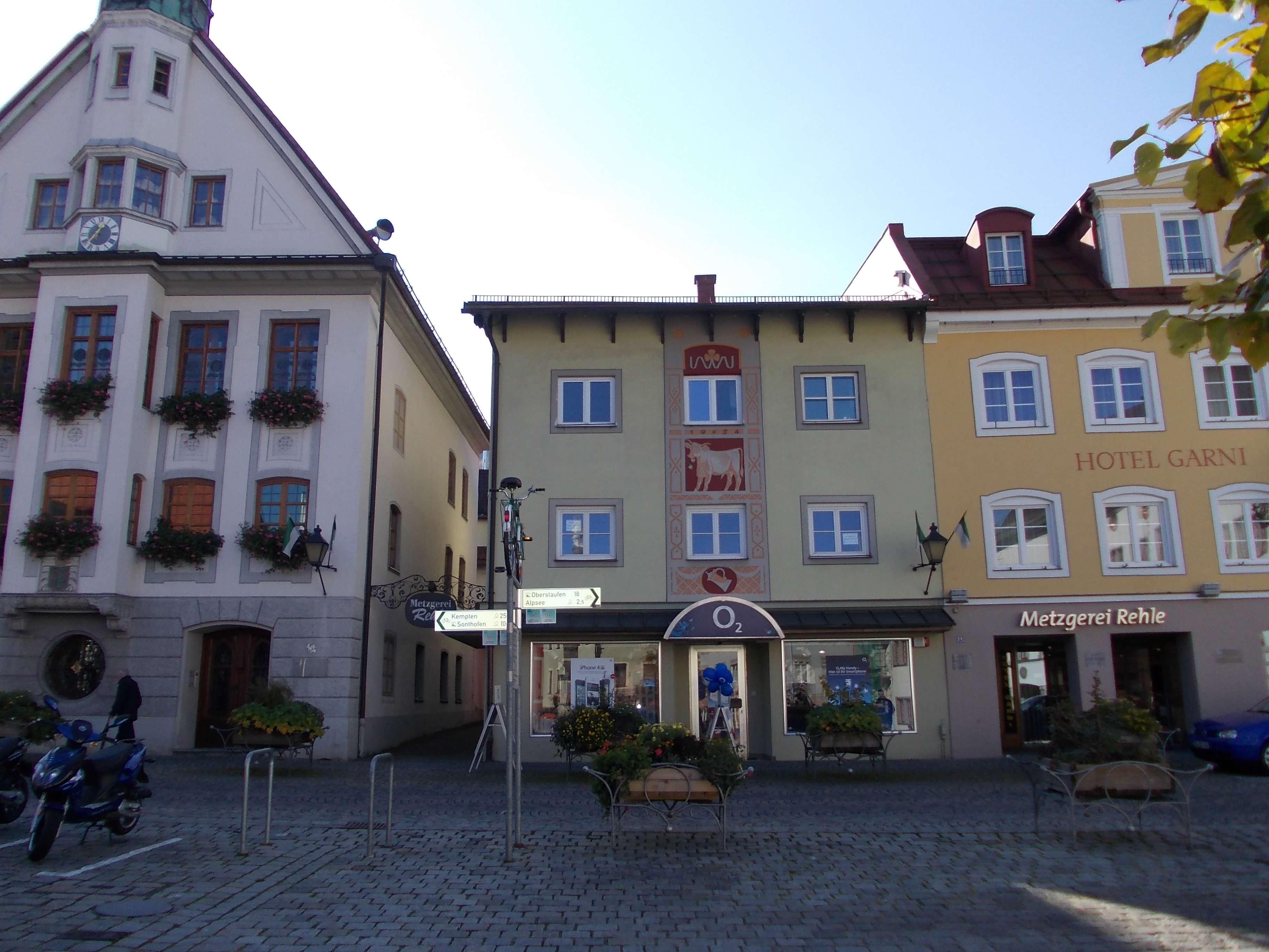Luxus-Atelier-Wohnung am Marienplatz - Immenstadt in