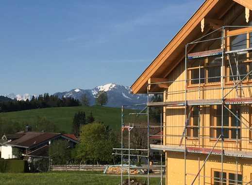 Neubau sonnendurchflutete Doppelhaushälfte mit Garten und Bergblick Greiling bei Bad Tölz