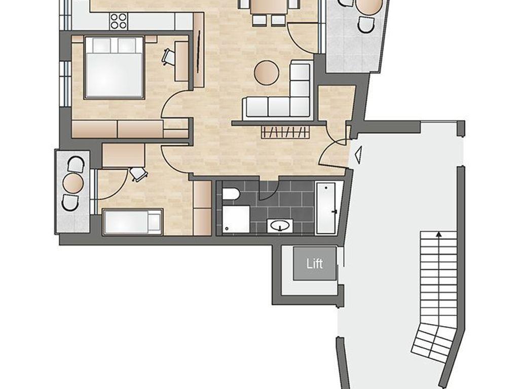 bau wurde begonnen moderne 3 zimmer neubau. Black Bedroom Furniture Sets. Home Design Ideas