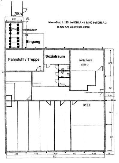 AE 31_33 2.OG Grundrissplan -