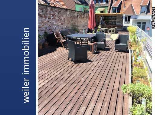 Loftwohnung mit großer  Dachterrasse - Top saniert,  - Saarbrücken City