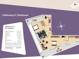 Grundriss Wohnung 7, Haus 5
