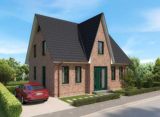 Neubau eines exklusiven Einfamilienhauses im Friesenhausstil in Boddennähe…