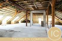 5 bis 6-Zimmer-Dachloft zum Selbstausbau