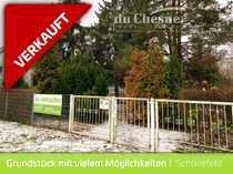 Schönefeld Grundstück mit viel Grün