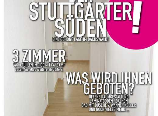 Stuttgart-Dachswald - 3 Zimmer Wohnung in grüner Lage!