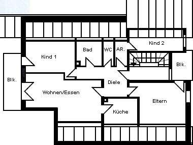 Attraktive 4 ½ -Zi-DG-Wohnung in Neutraubling unweit vom Naherholungsgebiet Guggenberger Weiher in