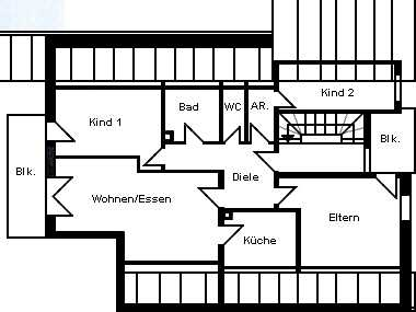 Attraktive 4 ½ -Zi-DG-Wohnung in Neutraubling unweit vom Naherholungsgebiet Guggenberger Weiher in Neutraubling