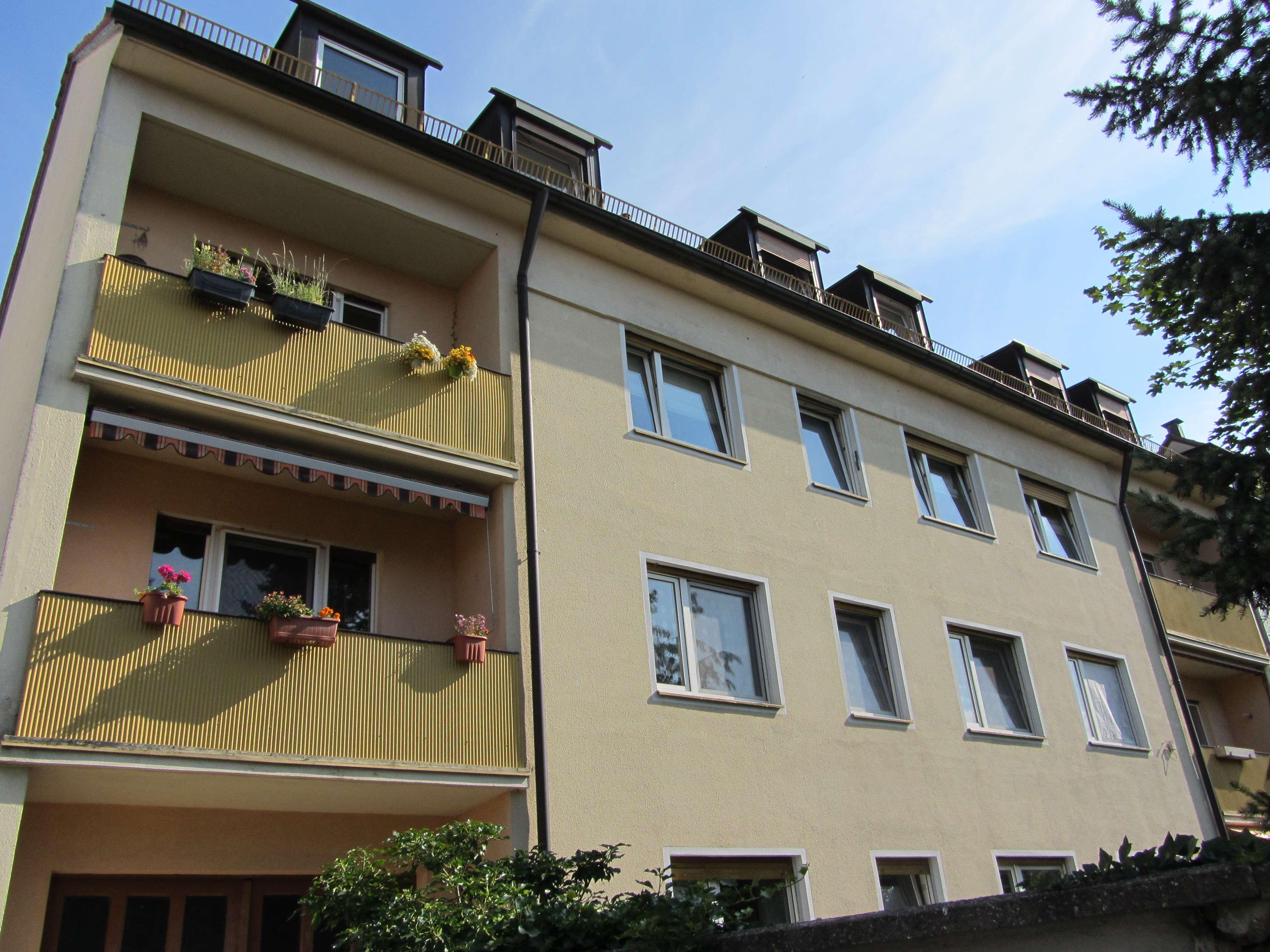 Attraktive 2-Zimmer-Wohnung mit Balkon in Nbg.- Mögeldorf in Mögeldorf (Nürnberg)