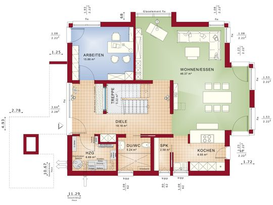 Concept-M 163 - Erdgeschoss