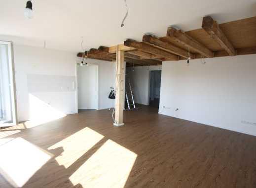 myHome-Immobilien / EXKLUSIV und ERSTBEZUG,  Traum 4 Zi-Galerie-Wohnung über zwei Etagen mit Garten
