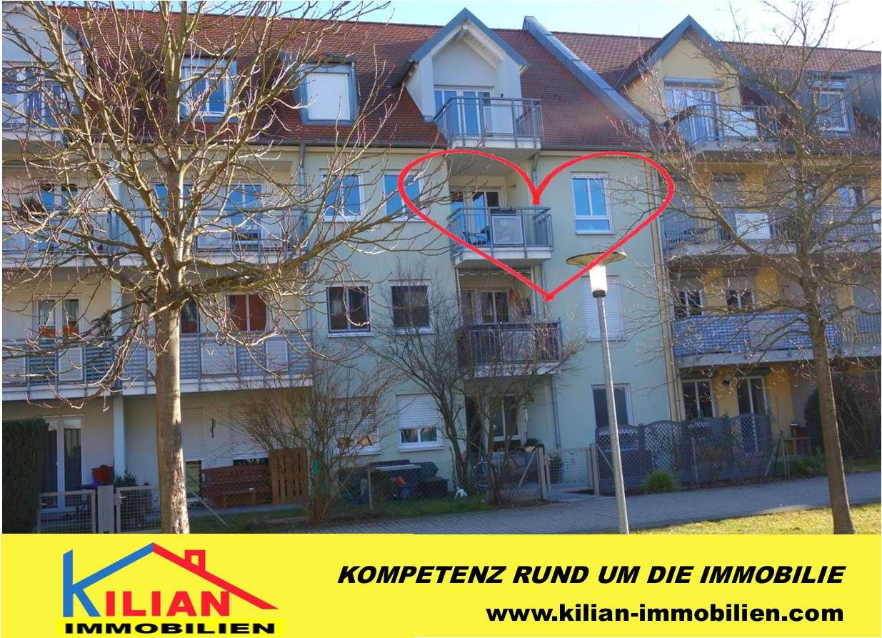 KILIAN IMMOBILIEN!  TOP 3-ZI. MIT 75 M² IN ROTH! LOGGIA * BAD MIT DUSCHE + WANNE * TIEFGARAGE EXTRA! in Roth (Roth)