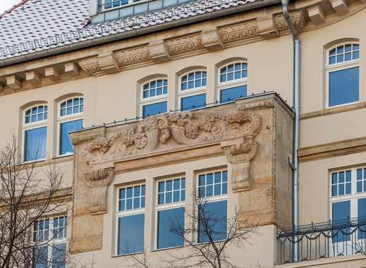 herrschaftliche Altbauwohnung City-West I hochw. saniert I EBK I Stuck I  Balkon & Loggia