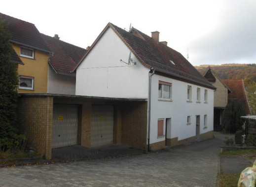 Einfamilienhaus mit Scheune, Doppelgarage und Garten mit Schuppen im Bieterverfahren zu verkaufen