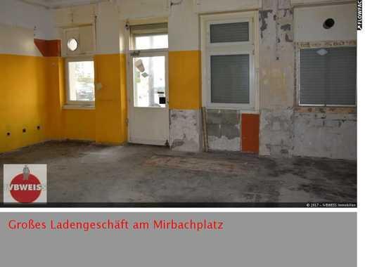 Große Ladenfläche am Mirbachplatz in WSee (Ausbau durch Eigentümer und in Abstimmung)